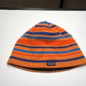 Patagonia orange stripe hat